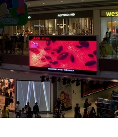 LED screen for mall