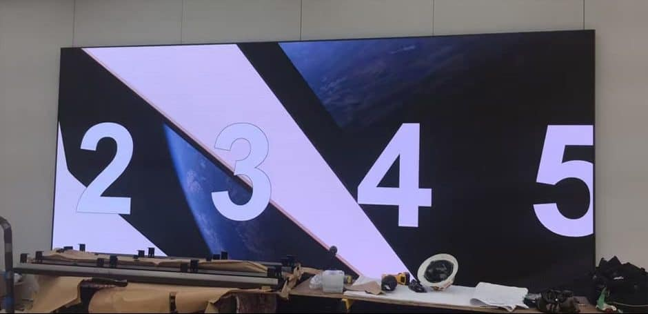 high definition led display for apple store
