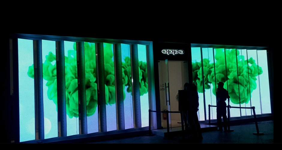 retail led display promoting your retail store with low upkeep costs to touch your target clients heart deeply
