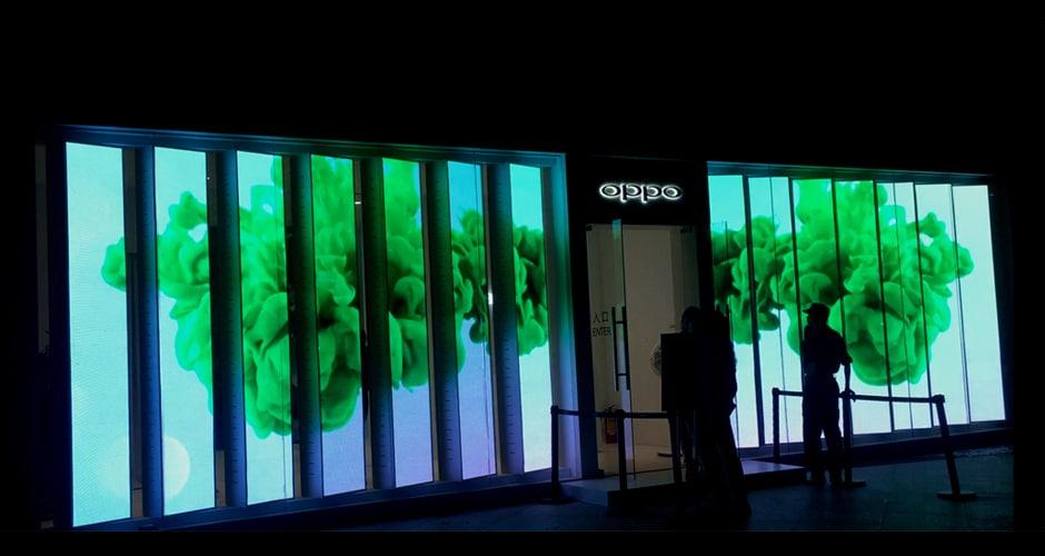 LED-display voor de detailhandel met een lage winkelstand om uw klanten diep van binnen te raken