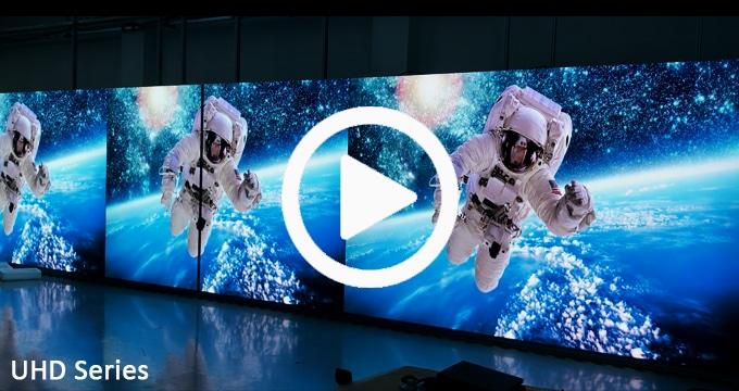 Ściana wideo LED Fine Pitch zapewnia przyciągające wzrok wrażenia na dużą skalę