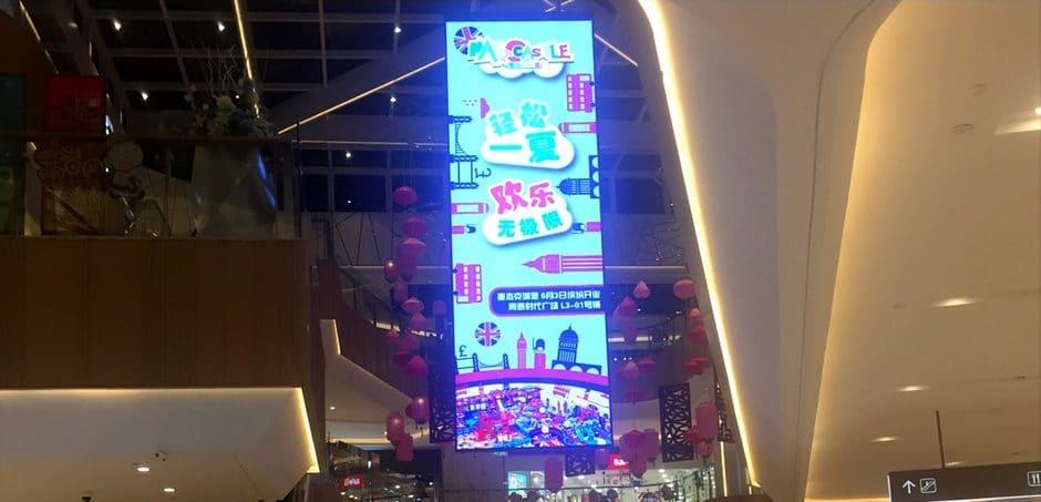 High Definition Hängande LED-skärm