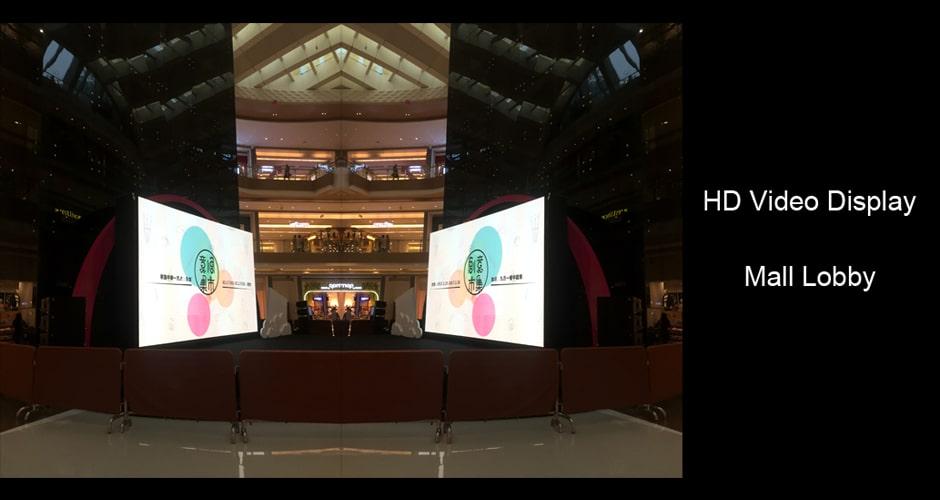 Wyświetlacz wideo HD poprawia wrażenia marki