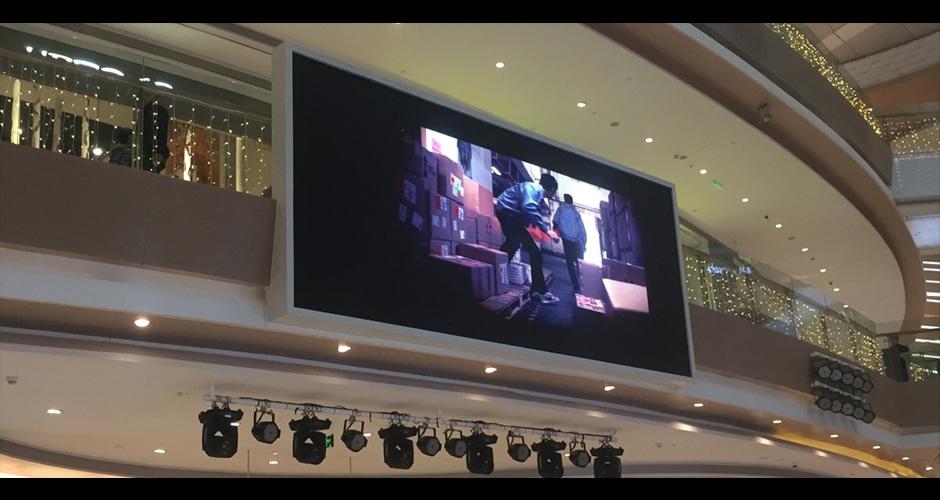hd video ekranı UHD videoları sunar