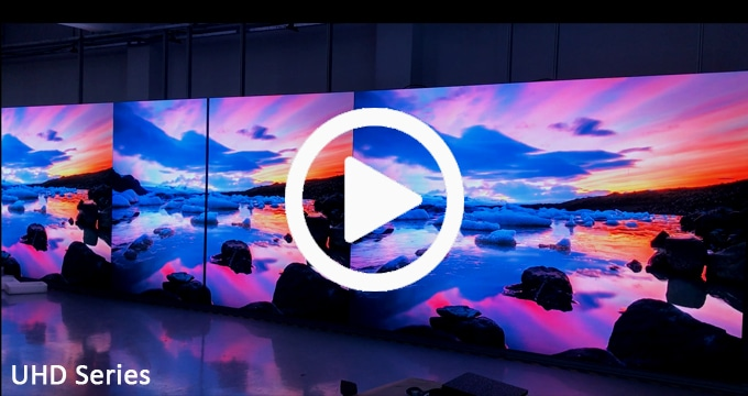 small pixel led display delivering an eye-catching large-scale viewing experience
