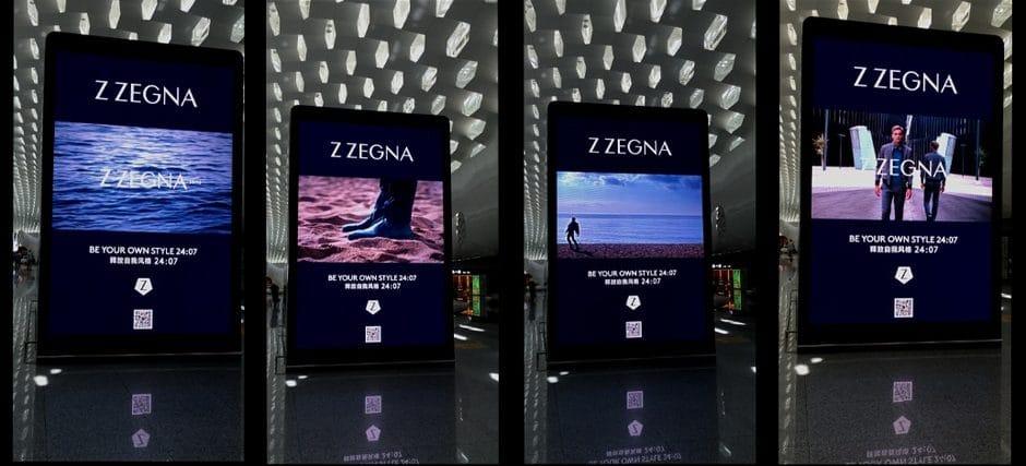airport digital advertising enhancing brand experience