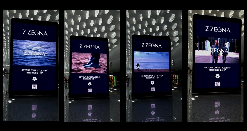 airport digital advertising enhancing brand experience