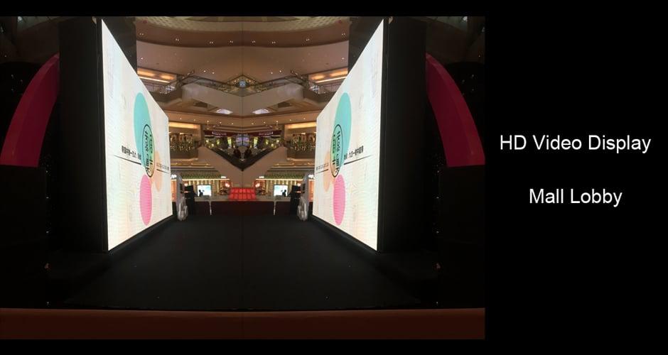 Wyświetlacz wideo HD zapewnia wciągające wrażenia wizualne