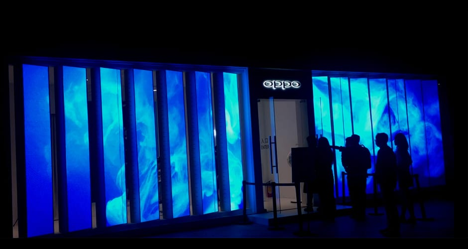 LED-display voor de detailhandel brengt aandacht en betrokkenheid van de klant