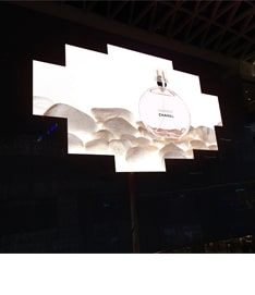 HD video LED screen for mall