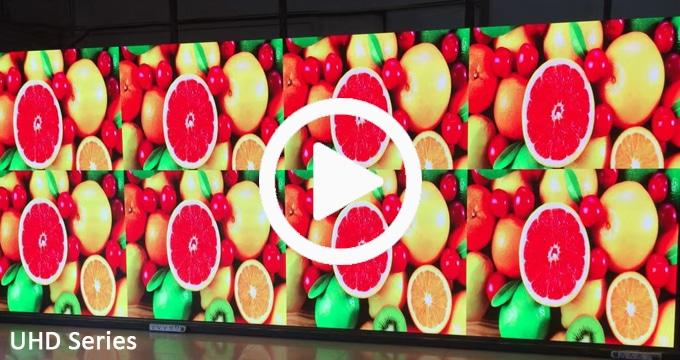 Wysoka precyzja wyświetlacza LED Pixel Pitch zapewnia, że szczelina łącząca jest mniejsza niż 0,01 mm i nie jest widoczna gołym okiem