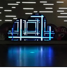 airport led display