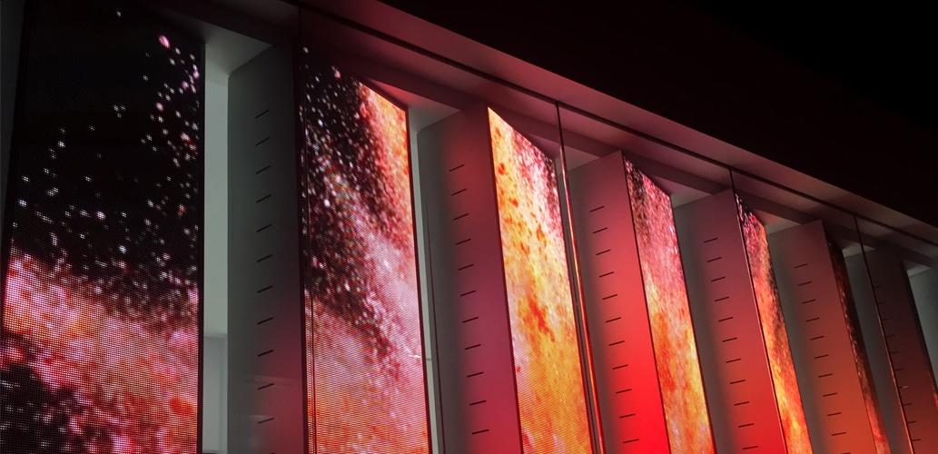 perakende mağazasında kullanılan yaratıcı perakende led ekran