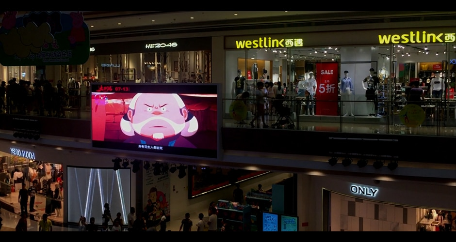 hd video screen creates memorable visual experience