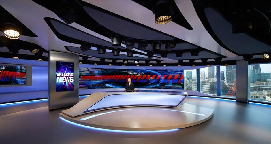 video wall for broadcast create enchanting visual studio environments