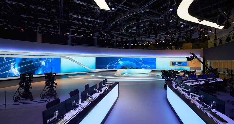 video wall for broadcast direct audiences an immersive and memorable visual experience
