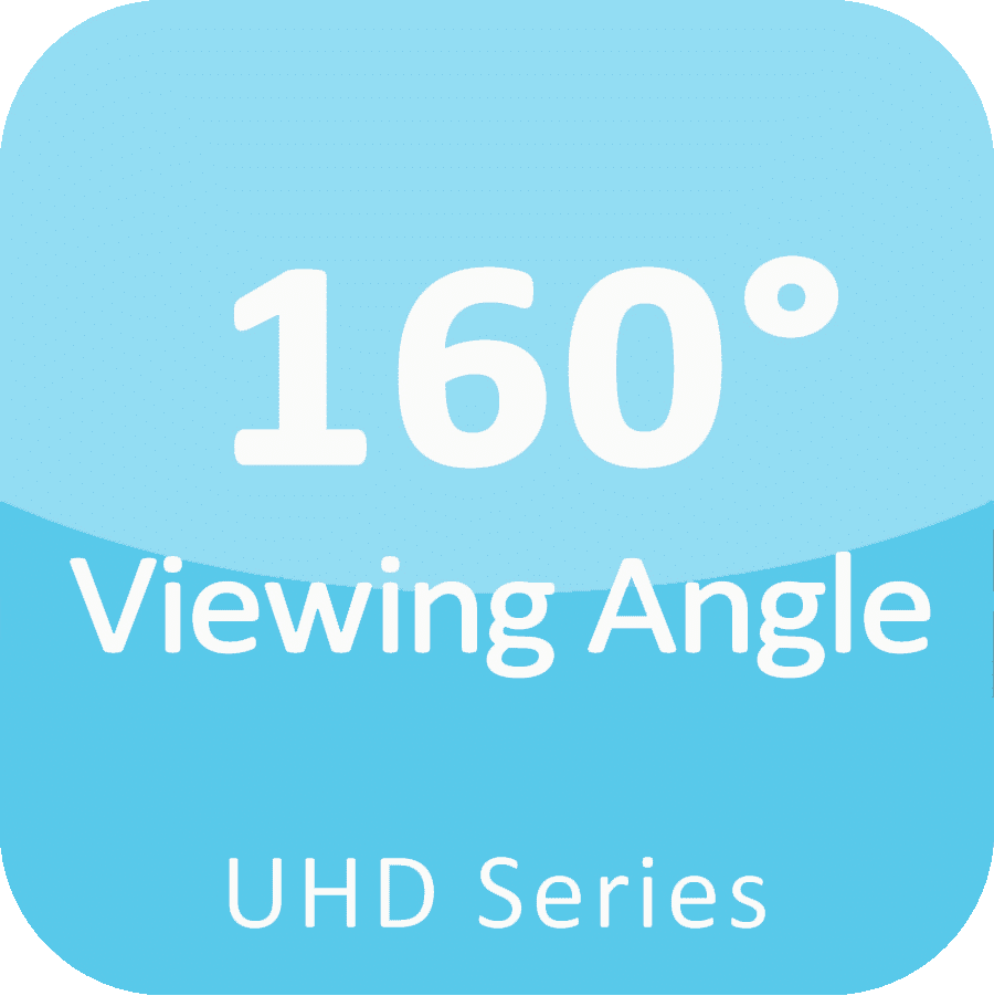 160 viewing angle fine pitch led display