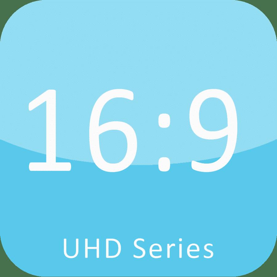 16: 9 золотое сечение тонкой светодиодный дисплей