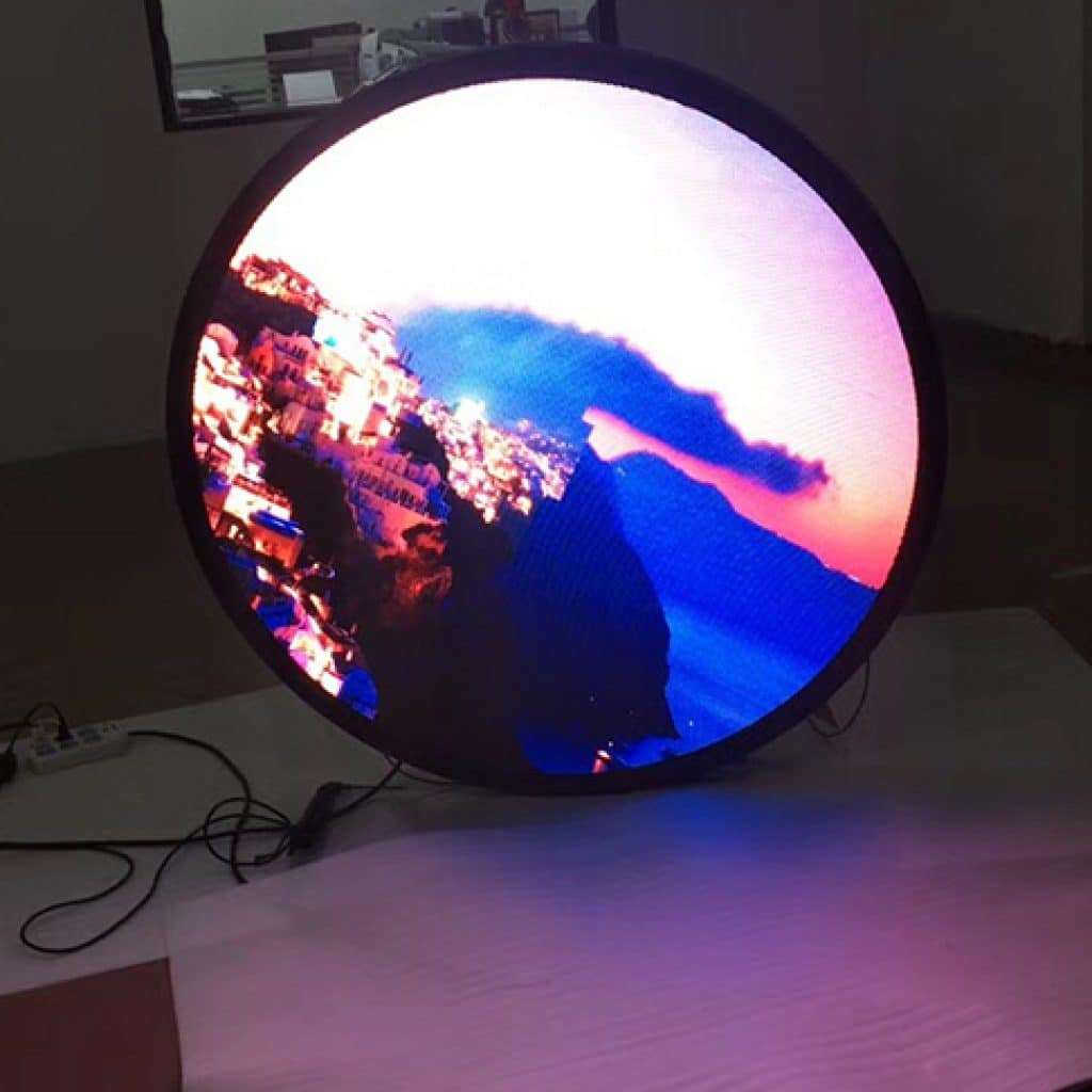 Irregular led display/led circle display