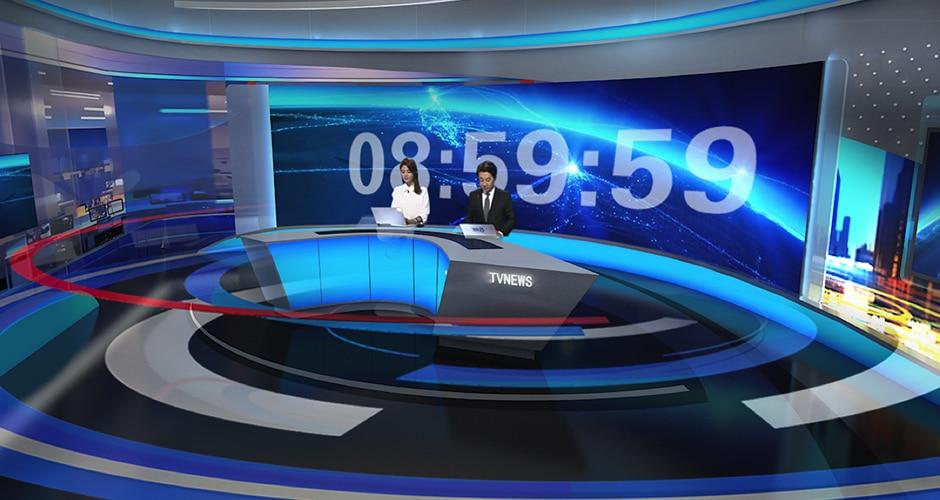 Broadcast ledd display / Studio fin pitch ledd display