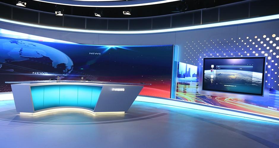 Vysílání led displej / Studio jemné hřiště LED displej