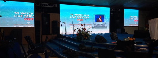led screens for church