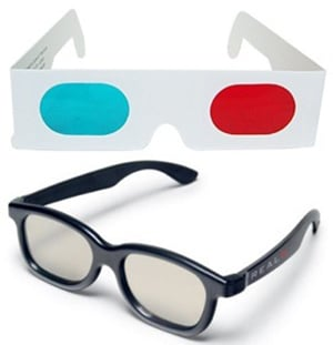 3D LED Display-filterlinser