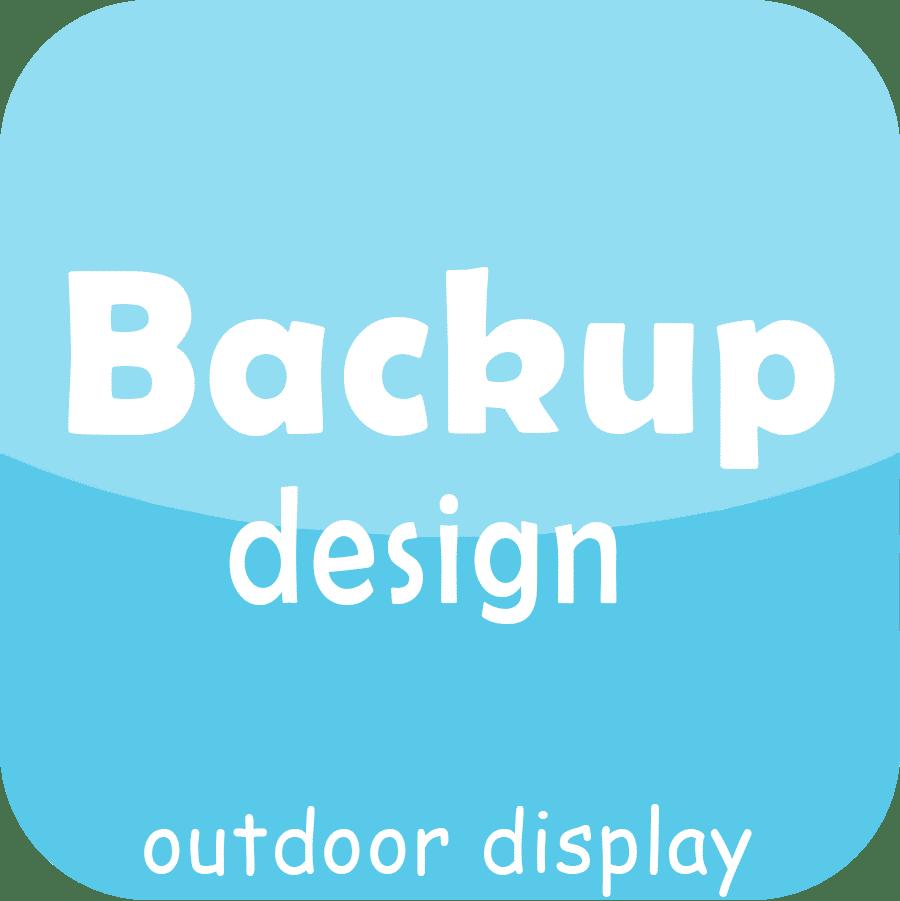 back up design front service outdoor led display module
