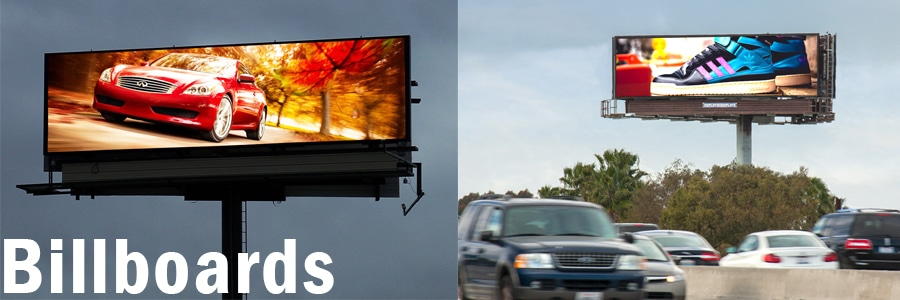 Digital display billboard