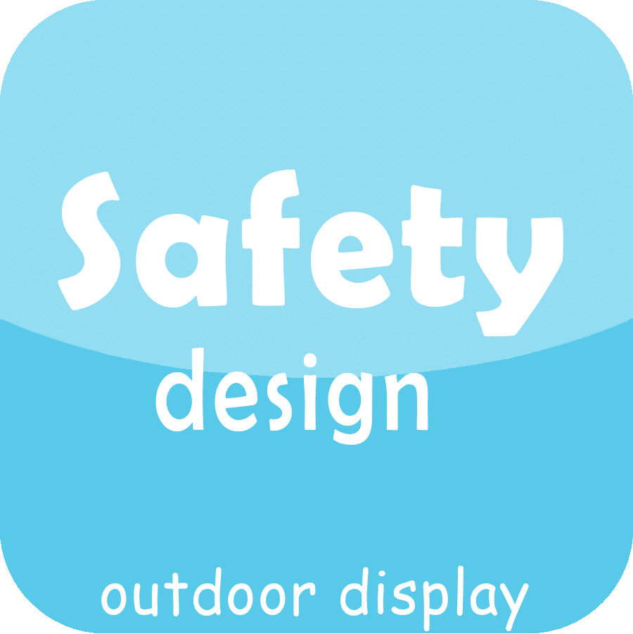 safety outdoor led display