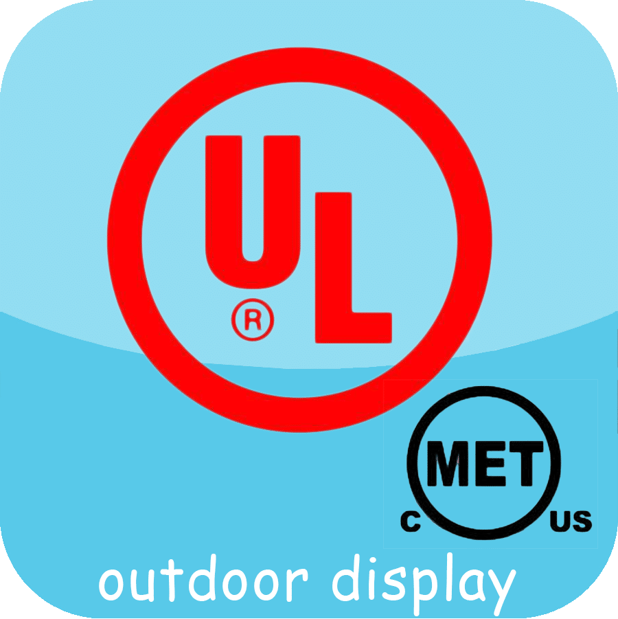 UL buiten led-display