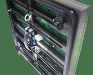 punho para o módulo de exposição conduzido ao ar livre do serviço dianteiro