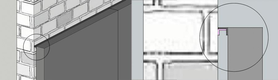 exposição conduzida ao ar livre da parede serviço dianteiro montado