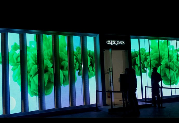 China retail led display supplier