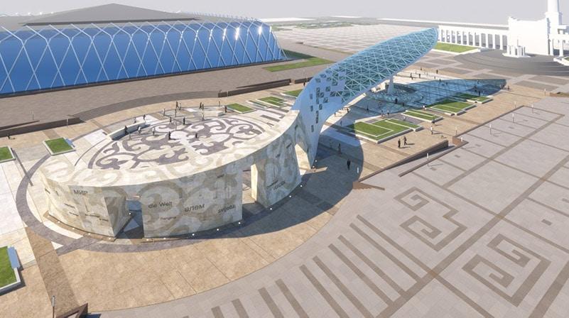 Kazakhstan creative media facade case 02