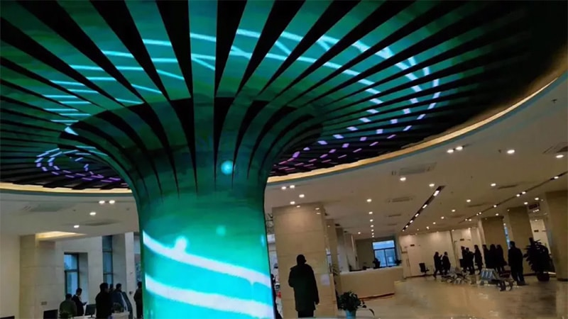 led column screen