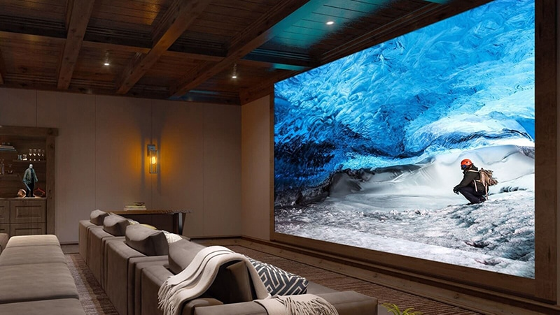 Sony 16K resolution crystal led  wall