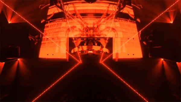 Nightclub LED Display Case