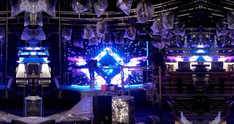 stunning visual effect dj led video wall