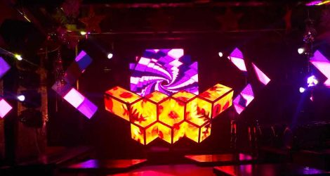immersive visual experience led dj booth