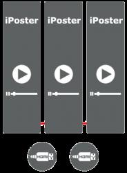 LED Poster Display Mirroring Mode